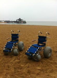 The Landeez All Terrain Wheelchair Has Served Us Very Well Over First 10 Years Of Beach Within Reach